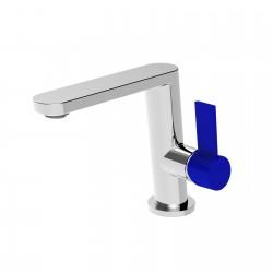 Taya leva colorata rubinetto miscelatore monocomando per lavabo