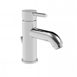 Newtech lavatory faucet with and without pop-up waste