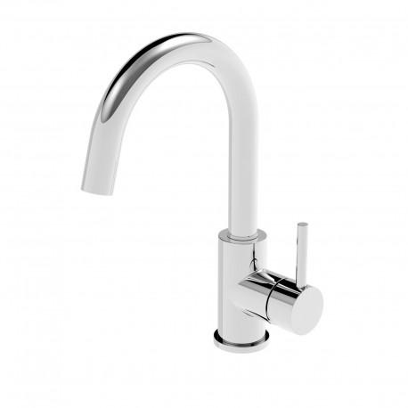 Newtech rubinetto lavabo con bocca d'erogazione alta 12601