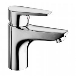 Metrò one inlet lavatory tap, without pop-up waste 32004