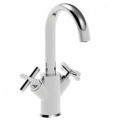 Ovaline rubinetto lavabo 2 maniglie (26603 CROSS)