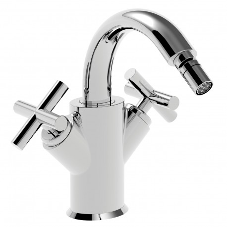 Ovaline rubinetto bidet 2 maniglie (26613 CS CROSS)