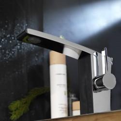 Rubinetto miscelatore monocomando per lavabo Wings La Torre AA001