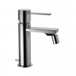 """Single-lever bidet mixer with 1""""1/4 pop-up waste Gaia 55103"""