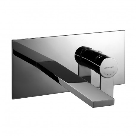 Complete built-in washbasin mixer without pop-up waste Gaia 55034
