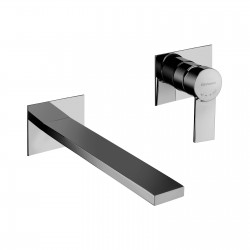 Complete built-in washbasin mixer without pop-up waste Gaia 55034A