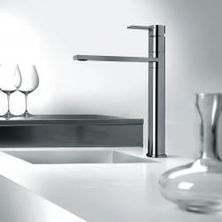 Gaia rubinetto miscelatore monocomando per lavello con bocca d'erogazione girevole 55165