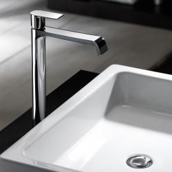 Tolomeo rubinetto miscelatore monocomando per lavabo alto 83065