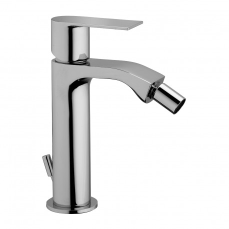 """Single-lever bidet mixer with 1""""1/4 pop-up waste Tolomeo 83103"""