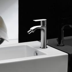 Tolomeo rubinetto miscelatore monocomando per bidet 83103
