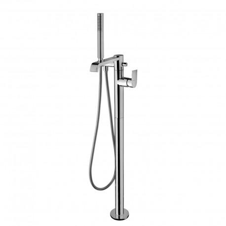 Tolomeo rubinetto miscelatore monocomando per vasca a pavimento 83096