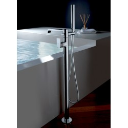 Complete free standing bath mixer Tolomeo 83096