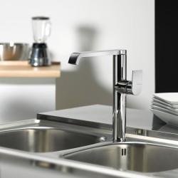 Tolomeo rubinetto miscelatore monocomando per lavello con bocca d'erogazione girevole 83165