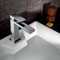 Single-lever washbasin mixer with or without pop-up waste Vita 53054-53050
