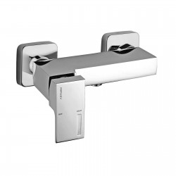 "External single-lever shower mixer with 1/2"" lower connection Vita 53006"