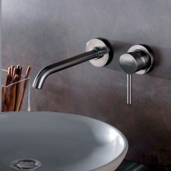 Complete built-in washbasin mixer without pop-up waste Pepe 12034