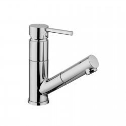 Pepe rubinetto miscelatore monocomando per lavello con doccetta estraibile 12055