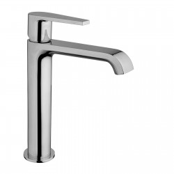 Medium version single-lever washbasin mixer without waste Gioia 73040