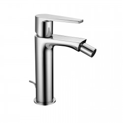 "Single-lever bidet mixer with 1""1/4 pop-up waste Gioia 73103"
