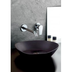 Complete built-in washbasin mixer without pop-up waste Gioia 73034