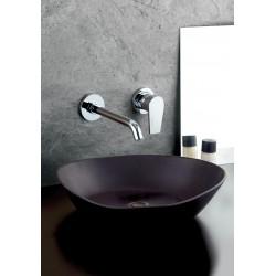 Gioia rubinetto miscelatore monocomando lavabo incasso senza placca 73034