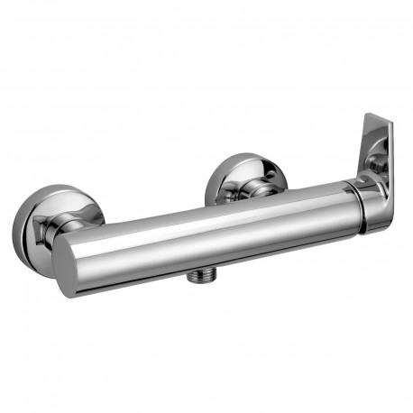 """External single-lever shower mixer with 1/2"""" lower connection Gioia 73006"""