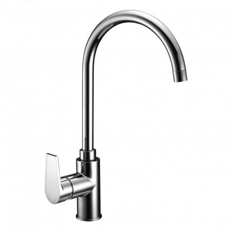Gioia rubinetto miscelatore monocomando per lavello con  bocca d'erogazione girevole 73165