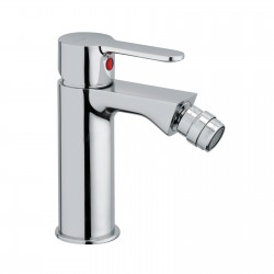 "Single-lever bidet mixer with 1""1/4 pop-up waste Mocca 60103"