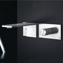Aico rubinetto incasso a parete per lavabo con placca AIC18