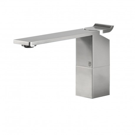 Okami single lever basin mixer without pop-up waste and drain