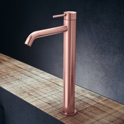 Toki single lever high basin mixer without pop-up waste and drain