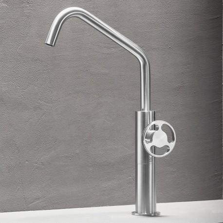 Kàto rubinetto miscelatore monocomando per lavabo alto KAT3