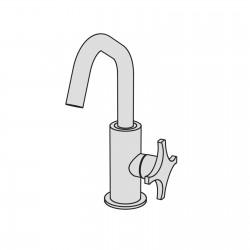 Dixi rubinetto monocomando per lavabo DIX1
