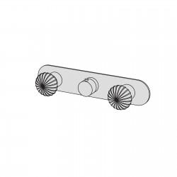Dorin incasso doccia termostatico con 2 rubinetti di arresto DOR60