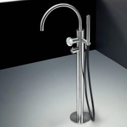 Dorin rubinetto per vasca a pavimento con bocca d'erogazione fissa PD99