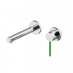 Circle One basin mixer wall installation with inspectable box 9035