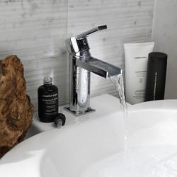 Lavatory faucet open spout without pop-up waste Italia 150 La Torre 35666TC