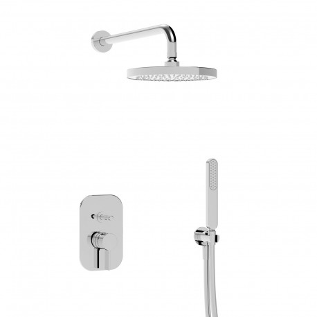 Taya kit incasso doccia soffione e doccetta (40050 R SOF KIT)