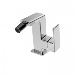 Side lever bidet faucet with pop-up waste Profili La Torre 45611CS
