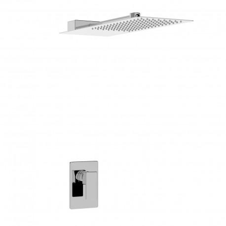 Profili kit doccia completo di incasso doccia e soffione (45050 SOFT KIT)