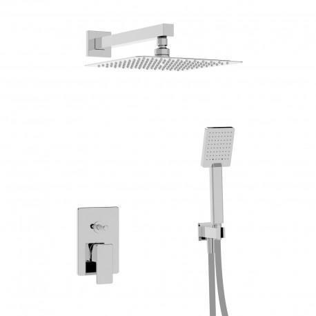 Profili Kit doccia con incasso, soffione e doccetta (45050 R SOF KIT)