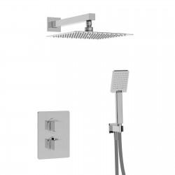 Profili Kit doccia con incasso termostatico, soffione e doccetta (45950 R2 SOF KIT)