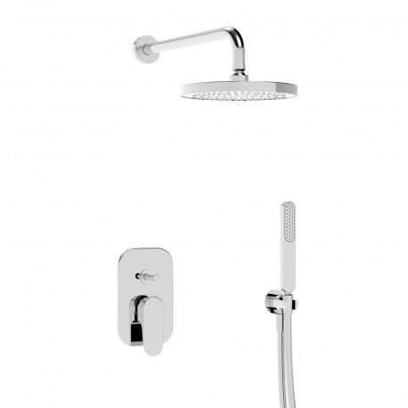 Woda kit incasso doccia soffione e doccetta (37050 R SOF KIT)