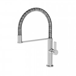 Taya rubinetto monocomando per lavello con bocca d'erogazione flessibile estraibile 40681