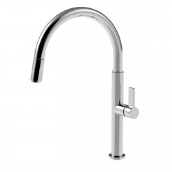Taya sink mixer with pull-down spray 40781