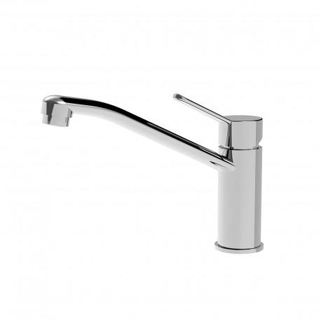 Newpro rubinetto lavello con bocca d'erogazione girevole 42191