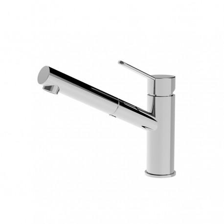 Newpro rubinetto lavello con doccetta estraibile (42181)
