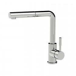 Towertech rubinetto lavello 2 maniglie con doccetta estraibile (14781 TO)