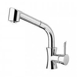 Konvex rubinetto lavello con doccetta estraibile 17081