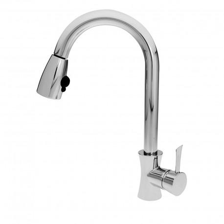 Konvex rubinetto lavello con canna flessibile
